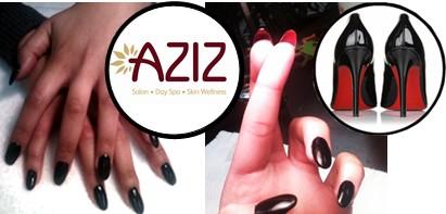 AZIZ Louboutin Nails
