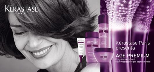 AZIZ Salon Healthy Aging Month Kerastase Age Premium