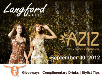 AZIZ Salon Langford Market Trunk Show The Quarters UT