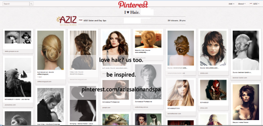 aziz salon pinterest i heart hair